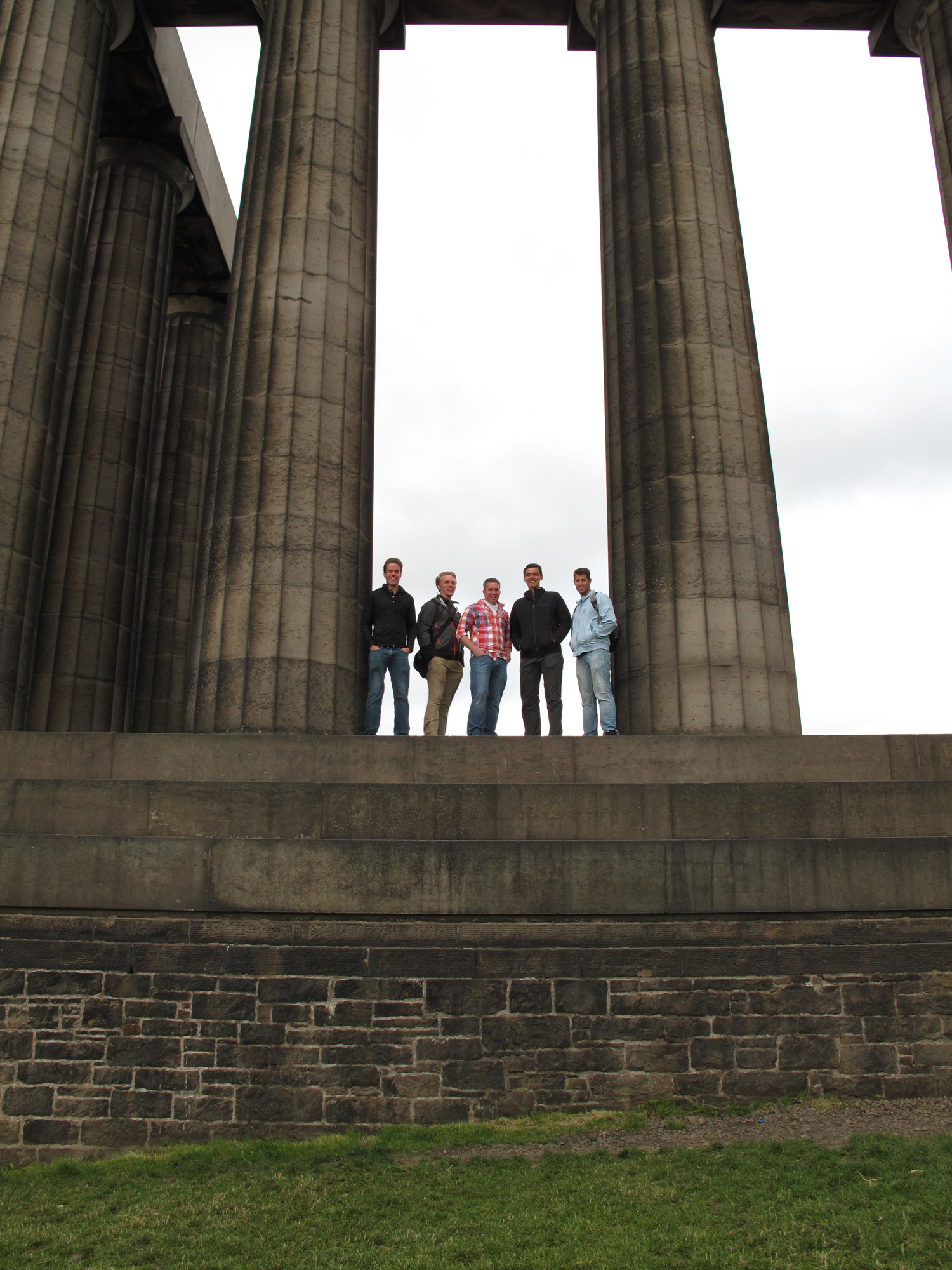 On Calton Hill