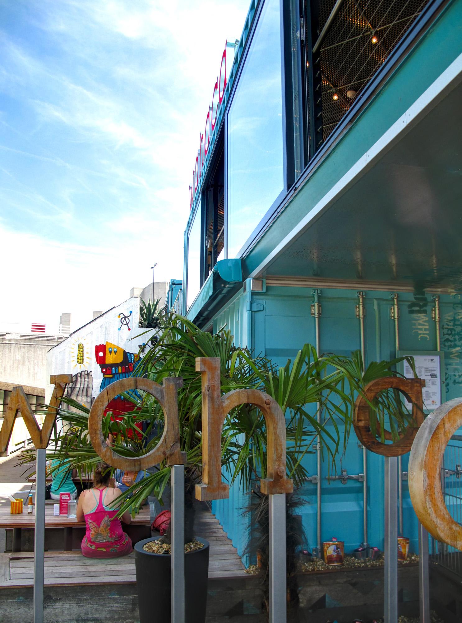 Wahaca Container Restaurant